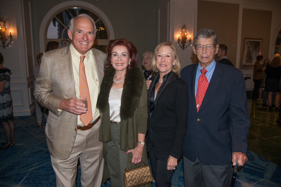 Edmund and Patsy Garno, Patty and George Gandelman