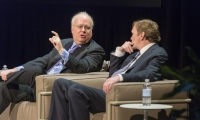 RCLA with Karl Rove and Jim Messina--Photo by Rod Millington