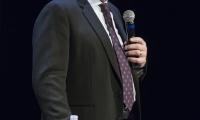 Sir Ken Robinson, Keynote Speaker for the RCLA--Photo by Rod Millington