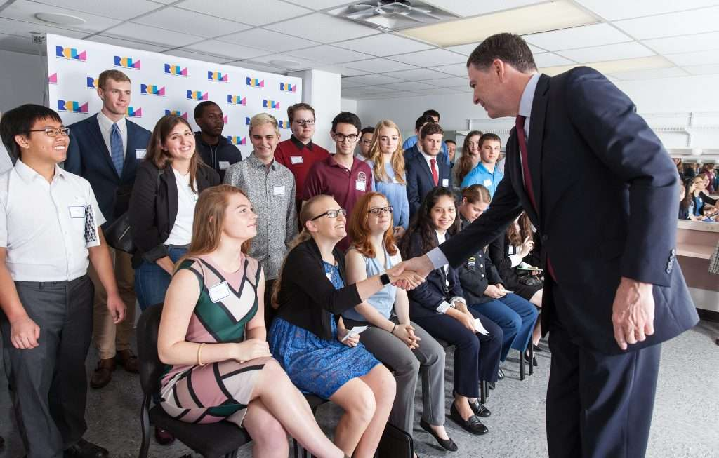 TOWN HALL Scholars with James Comey