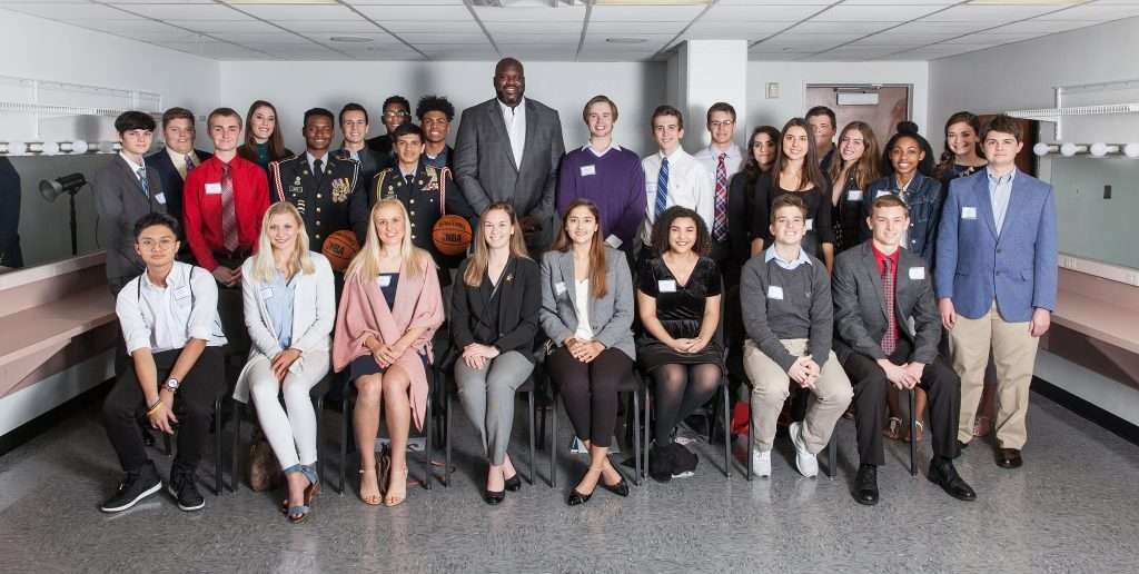 TOWN HALL Scholars with Shaquille O'Neal