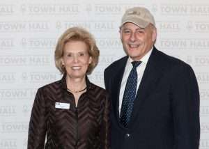 TOWN HALL chair, Ollie Johnson and General John F. Kelly