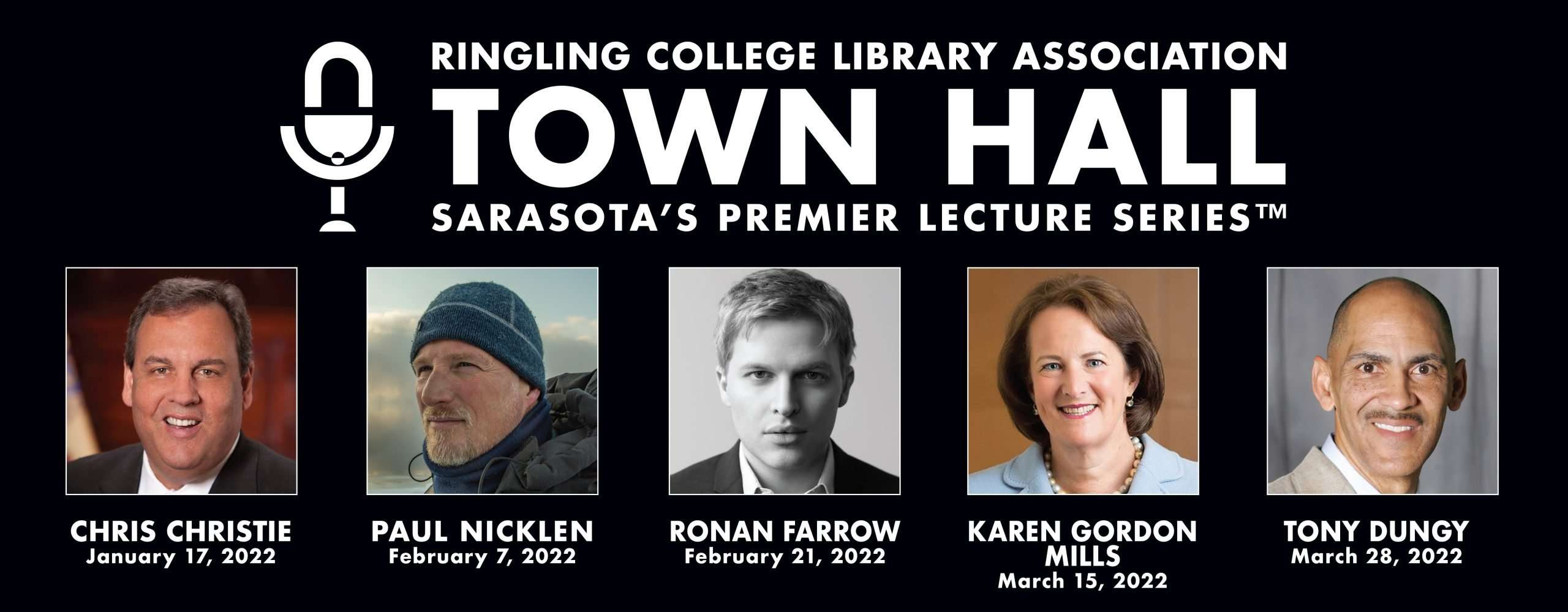 2022 TOWN HALL Lecture Series Lineup